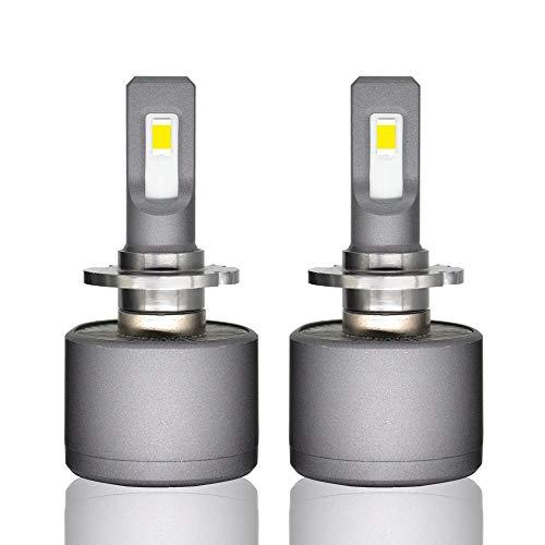 LHQ Kit de conversión de Bombillas de Faros LED, 9005/9006/9012 / D2 9600 lúmenes 6000K CSP Chip LED Faros Delanteros - 1 par (Edition : D2)