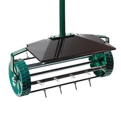 Aireador de césped con rodillo de alta calidad, escarificador
