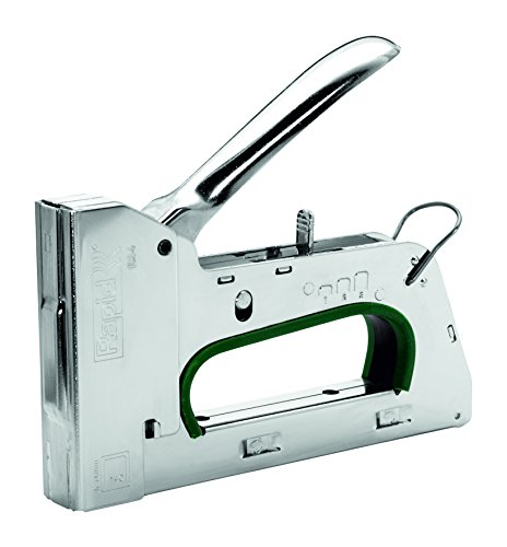Rapid 10595721 Handtacker R34, Metall, silber