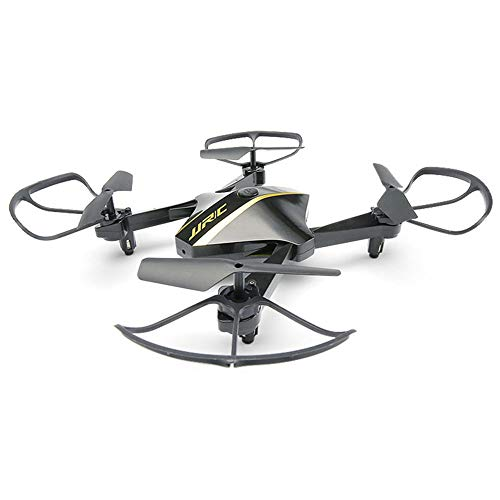 ZFD Mini FPV Drone LED Rc Nano Quadcopter 2.4Ghz 6 Assi Gyro Drones con videocamera HD per Bambini e Principianti, Pocket Helicopter con Altitude Hold, modalità Headless, 3D Flip,Black