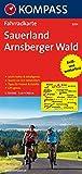 Fahrradkarte Sauerland, Arnsberger Wald : leicht lesbar & detailgenau, Touren vor Ort recherchiert, Tipps für Freizeit & Familie ; GPS-genau: ... Deutschland, Band 3054)