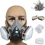 3M 3M-6200 Half Facepiece Reusable Respirator, Without Cartridges(Medium) 17