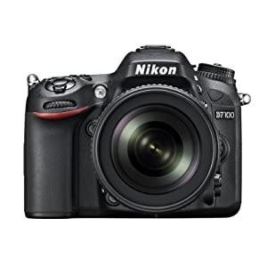 Nikon D7100 24.1MP Digital SLR Camera (Black) with AF-S 18-105mm VR Lens, Card and Camera bag with 8GB class10 card FREE D-SLR Tutoria DVD