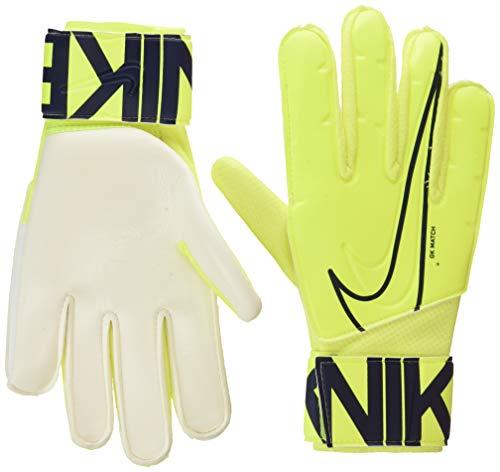 Nike Nk GK Match-Fa19, Guanti da Calcio Unisex - Adulto, Volt/Obsidian, 10