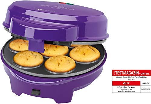 Clatronic DmC 3533Ciambella della Focaccina Cake Pop Maker