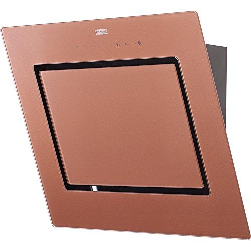 Franke Mythos fmy606co/Copertura cappa aspirante/parete/60cm/vetro rame Edition/classe di...