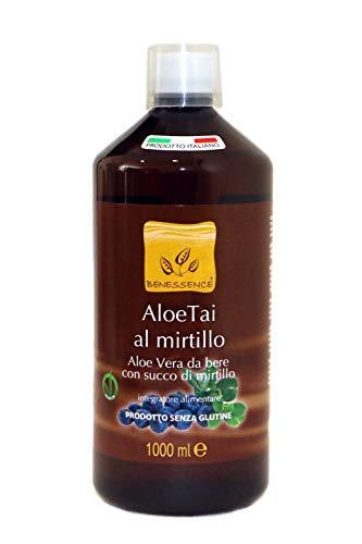 AloeTai Mirtillo Succo di Aloe Vera con Mirtillo 1000 ml