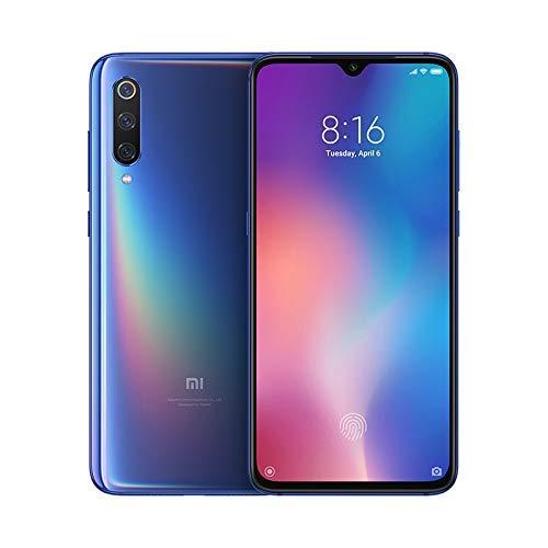 Xiaomi Mi 9 - Smartphone de AMOLED de 6,39' (4G, Octa Core Qualcomm SD 855 2.8 GHz, RAM de 6 GB, memoria de 64 GB, cámara triple de 12 + 48 + 16 MP, Android) color azul océano [Versión española]
