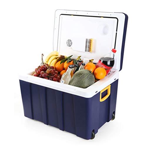 Ice Frigorifero per Auto, frigo Portatile termoelettrico 50L e Dispositivo di Raffreddamento 12V /...