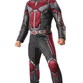 Marvel - Disfraz de Ant-Man oficial para hombre, Talla XL adulto (Rubie's 821006-XL)