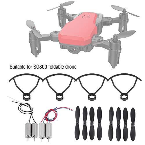 Hélices + protecteurs Hélices + Moteurs Accessoires pour SG800 RC Drones 5