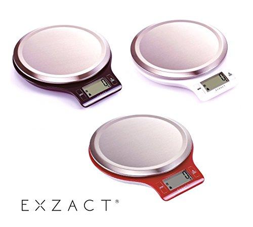 exzact easyclean balance de cuisine lectronique dmpreintes digitales plate forme r sistant. Black Bedroom Furniture Sets. Home Design Ideas