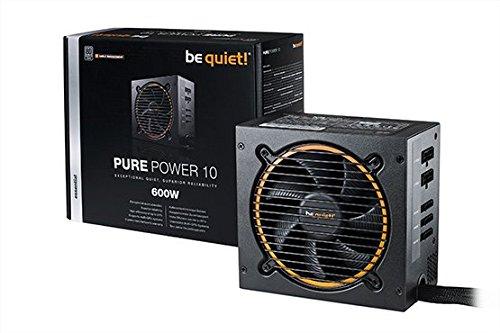 be quiet! Pure Power 10 cm ATX 600W PC Netzteil BN278 mit Kabelmanagement
