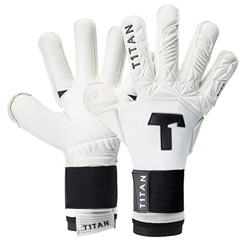 T1TAN Alien White-out 2.0 Guanti da Portiere Professionali - utilizzati in Serie A - Modelli per...