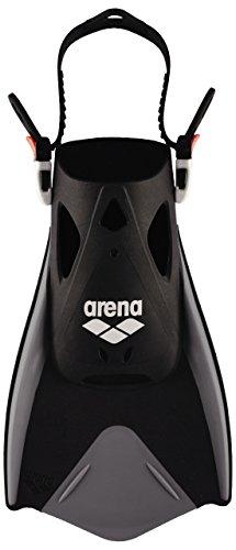 Arena Fitness Fin, Pinne Unisex-Adulto, Black/Silver, XL