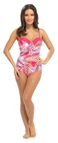 Lora Dora Womens Swimming Costume Underwired Swimsuit Backless All