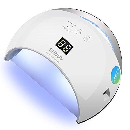SUNUV SUN6 36W Lampade LED per Gel Unghie dotata di 30s,60s,99s timer, display LCD, sensori...
