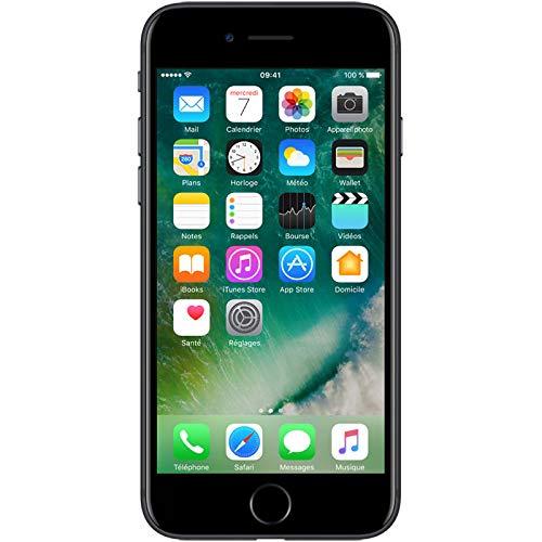 Apple iPhone 7 Smartphone Libre Negro 128GB (Reacondicionado)