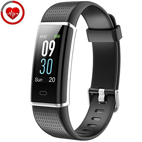 YAMAY Braccialetto Fitness Tracker Orologio Cardiofrequenzimetro da polso Smartwatch Donna Uomo...
