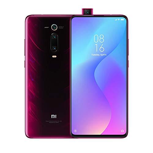 """Xiaomi Mi 9T - Smartphone con Pantalla AMOLED Full-Screen de 6,39"""" (Selfie Pop-up, Triple cámara de 13 + 48 + 8 MP, con NFC, 4000 mAh, Qualcomm SD 730, 6+64 GB,) Color Rojo Llama [Versión española]"""