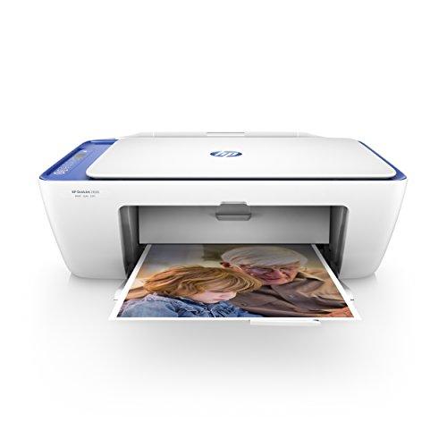 HP Deskjet 2630 (V1N03B) Stampante Multifunzione a Getto di Inchiostro, Stampa, Scannerizza,...