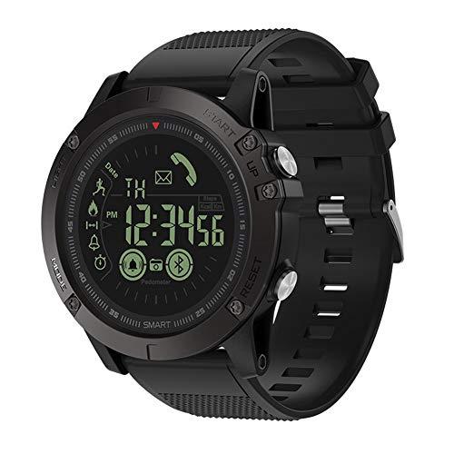 Orologio sportivo impermeabile intelligente, orologio militare digitale LED in pelle per uomo con...