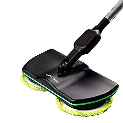 Elektrischer Wischmopp, kabellos drehbar, einstellbar, Handbodenreiniger, trockenes Schleppseil, nasses Wachs, Zwei-in-eins-Reinigung. Geeignet für alle Bodenarten