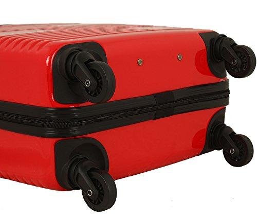 travelite Groovy 4-Rad Trolley-Set 3-tlg 10 rot - 6