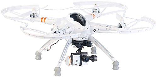 Simulus Quadrocopter QR-X350.PRO mit Fernsteuerung, Gimbal & Full-HD-Cam