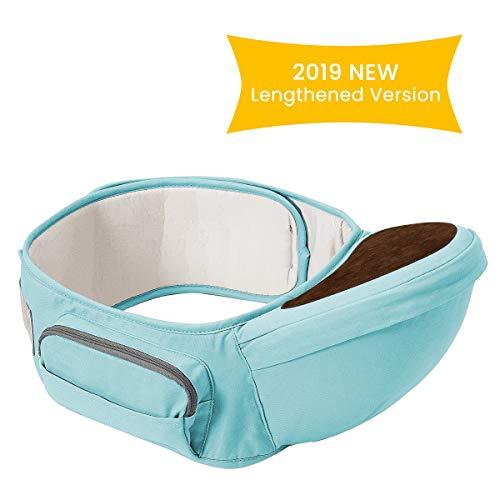 Wemk Hipseat Marsupio, Neonati Marsupio Sicurezza Supporto, La cintura è regolabile per una...