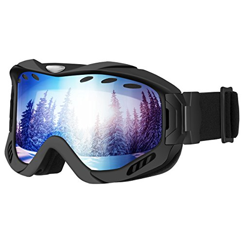 mpow masque de ski snowboard lunette de ski double. Black Bedroom Furniture Sets. Home Design Ideas