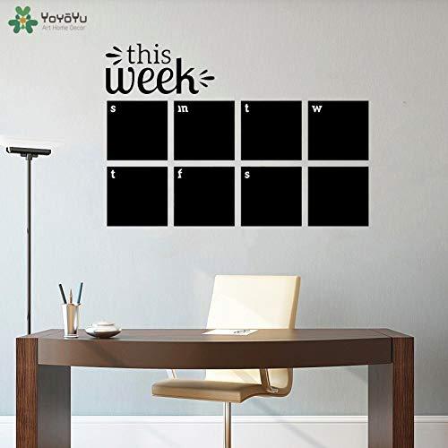 Office Motivation Weekly Planner Calendario Adesivo Business Worker Ispirare Gli Adesivi per Ufficio...
