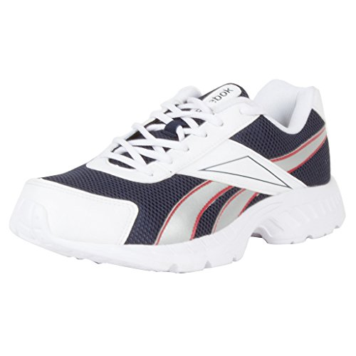 Reebok Men's Acciomax LP Blue, White and Red Running Shoes - 7 UK