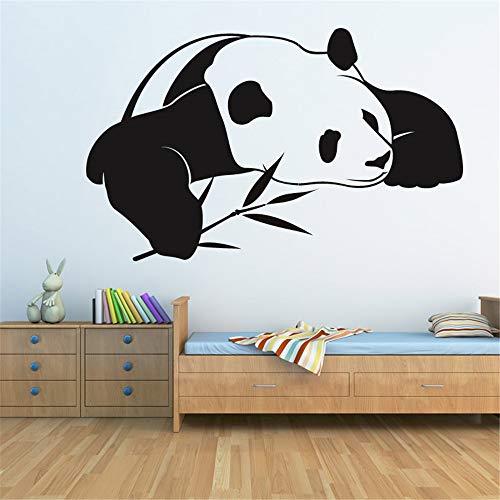 yiyiyaya Nuovo Stile Cinese Panda Wall Sticker Animale Home Decor Rimovibile Soggiorno Decorazione...