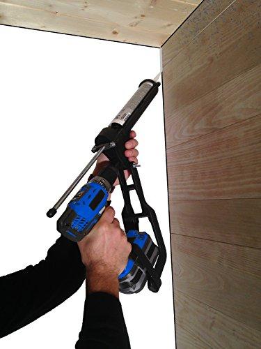 tivoly 11110520001t-gun Kartuschenpistole anpassbar auf Akkuschrauber und Bohrmaschinen