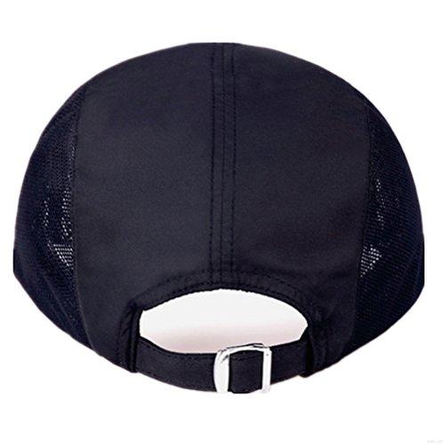 3aeb0e1e601 GADIEMENSS Quick Dry Sports Hat Lightweight Breathable Soft Outdoor Running  Cap (Classic ...