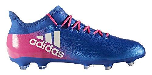 adidas X 16.2 FG, Scarpe per Allenamento Calcio Uomo, Blu (Azul/Ftwbla/Rosimp), 44 EU