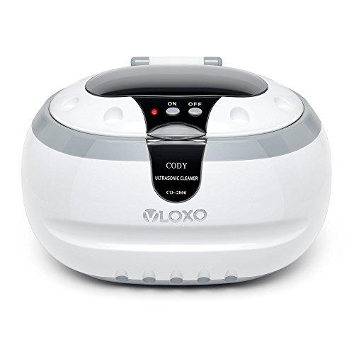 Ultraschallreinigungsgerät Ultraschallreiniger Ultraschallgerät 600ml - VLOXO für Brille Uhren Schmuck Ohrringe Ringe Halsketten Rasierer Zahnprothesen Tattoo Werkzeuge MEHRWEG