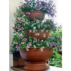 floristikvergleich.de Blumensäule Blumenampel Blumentreppe Blumenständer