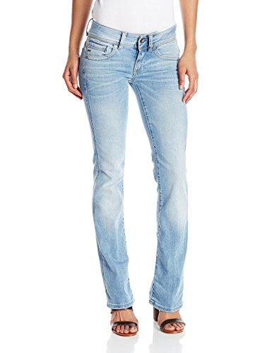 G-STAR RAW G-Star Damen Midge Saddle Mid Bootleg Wmn Jeans, Blau...