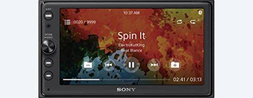 Sony XAV-AX100 AV Receiver (Black)