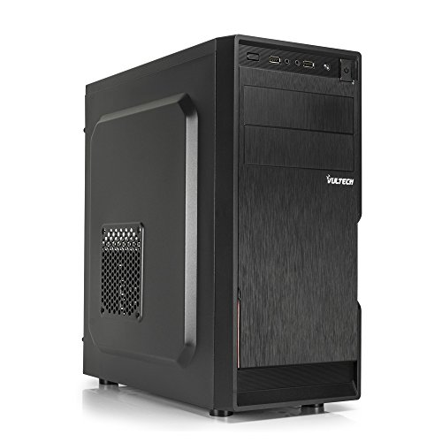 VulTech GS-1696 Case ATX con Alimentatore 500W, Nero
