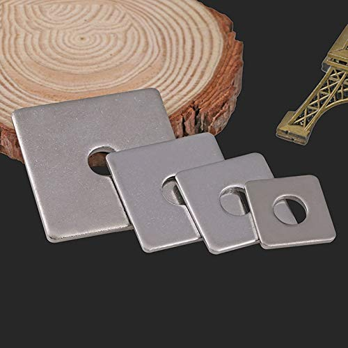 Ochoos M3/M4/M5-M16 - Guarnizione quadrata in acciaio inox 304, cuscinetto piatto, rondelle...