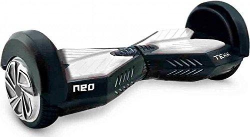 Itekk Tekk 8, Hoverboard Unisex – Adulto, Bianco, M