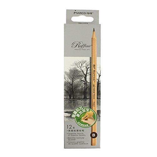 Sipliv Bleistift Skizze Bleistift, Bleistift, Skizze, Schattierung, Künstler, Schulbedarf Bleistift, 9B - 12 Stück