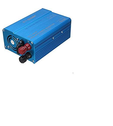 Z9CTHDF25JL - Inversor de coche (500 W, 12 V a 220 V, fuente de alimentación de coche/PV, puerto USB, corrección, onda sinusoidal)