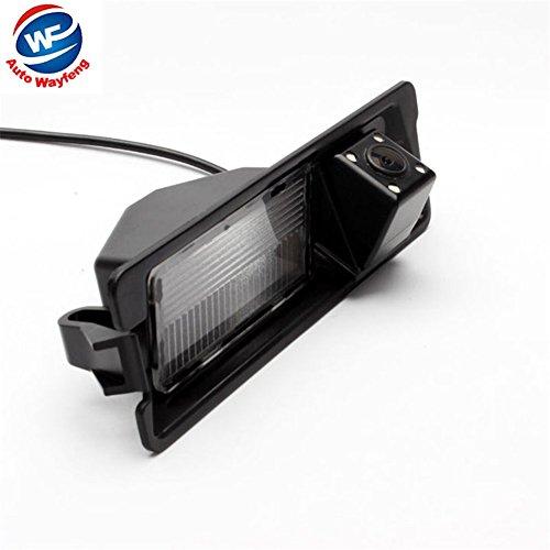 Auto Wayfeng WF HD di visione notturna 4 LED Special Car retrovisore inverso di retrovisione della macchina fotografica di backup per Nissan March Renault Logan Renault Sandero
