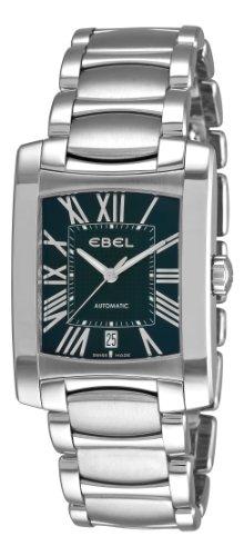 Ebel Herren 9120M41/52500 Brasilia schwarzen römischen Ziffern Zifferblatt