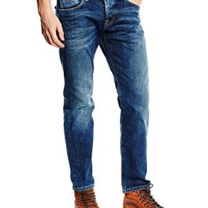 Pepe-Jeans-Herren-Slim-Fit-Jeans-Cane-Blau-PM200072Z23-W33L32