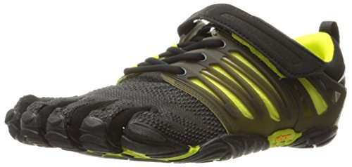 Vibram Five Fingers V-TRAIN, Scarpe Sportive Uomo, Nero (Black/Green), 44 EU